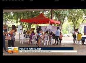 Projeto Margarida é realizado em Ipatinga - Projeto oferece exames de graça na cidade.