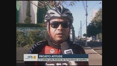 Projeto de ciclistas ajuda andarilhos pela América do Sul - Projeto de ciclistas ajuda andarilhos pela América do Sul