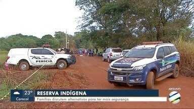 Famílias discutem alternativas para ter mais segurança em reservas indígenas - Reunião ocorreu entre a comunidade e lideranças indígenas em Dourados.