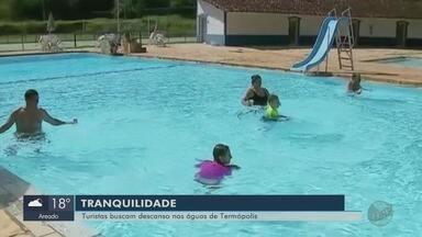 Balneário de Termópolis atrai turistas para São Sebastião do Paraíso - Balneário de Termópolis atrai turistas para São Sebastião do Paraíso