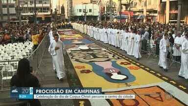 Fiéis celebram Corpus Christi na região de Campinas - Quinta-feira foi marcada por missas e procissões em várias cidades.