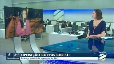 PRF divulga balanço parcial da operação Corpus Christi - Em Mato Grosso do Sul.