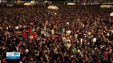 Quinto dia de São João de Petrolina tem recorde de público - A segurança precisou fechar os portões de acesso