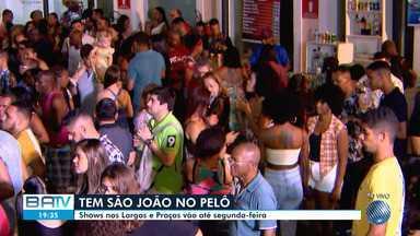 São João do Pelô atrai baianos e turistas para o Centro Histórico de Salvador - Desta quinta (20) até a próxima segunda-feira (24), grandes atrações se apresentam no Pelourinho.