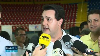 Governador Ratinho Júnior visita Londrina - Ele participou da abertura dos PARAJAP´S.