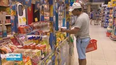Procura por produtos para comidas típicas juninas é grande nos supermercados de Macapá - Milho, canela e canjica estão em evidência. Consumidores aprovam preços.