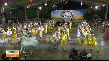 Festival Paraíba Junino - Quadrilhas de várias cidades se apresentam no 3º dia em Santa Rita.