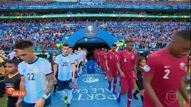 Colômbia vence o Paraguai por 1 a 0 pela Copa América - Dois jogos encerram a primeira fase da Copa América.