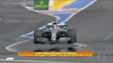 Lewis Hamilton vence GP da França e fatura sexta corrida em oito da temporada - Lewis Hamilton vence GP da França e fatura sexta corrida em oito da temporada