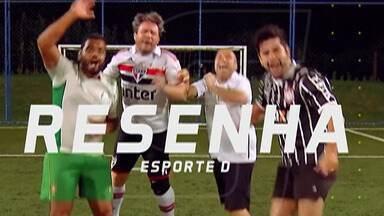 Rivalidade entre Brasil e Argentina marca mais uma edição do Resenha 2019 - Com as vitórias das duas seleções no fim de semana, pela Copa América, sobraram provocações dos garotinhos do Resenha.