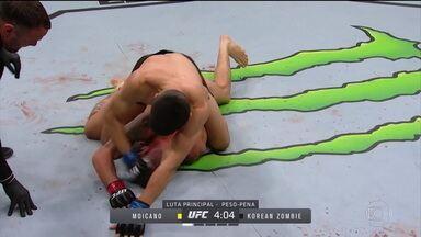 Renato Moicano é derrotado pelo Zumbi Coreano no UFC - Renato Moicano é derrotado pelo Zumbi Coreano no UFC