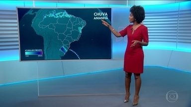 Previsão do tempo com Maria Júlia Coutinho - Maju mostra que frio e chuva atingem o Rio Grande do Sul e também dá dicas de onde o tempo fica firme.