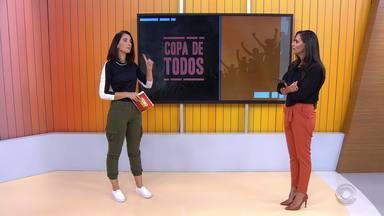 Dupla Gre-Nal retorna aos trabalhos após pausa para a Copa América - Assista ao vídeo.