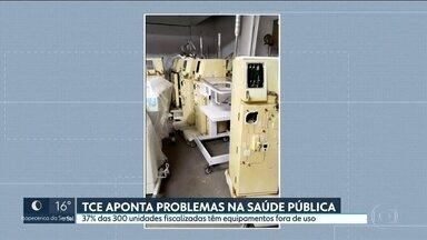 TCE-SP aponta problemas na saúde pública - Em 300 unidades da rede pública de saúde espalhadas pelo estado, 37% delas há equipamentos fora de uso.