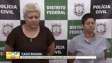 Mãe do menino Rhuan e companheira viram rés pelo assassinato da criança - undefined