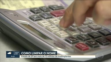 Pesquisa da Fecomercio mostra que 56% das famílias paulistanas estão endividadas - Dá para consultar e renegociar as dívidas pela internet.