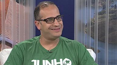 Secretário do Verde e Meio Ambiente de Mogi fala sobre a programação do 'Junho Verde' - Daniel Teixeira de Lima explica como é feito o acompanhamento dos plantios de mudas para que se desenvolvam e contribuam com a qualidade do ar.