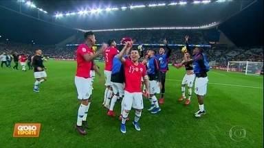Copa América: Chile vence o trânsito em SP e a Colômbia nos pênaltis para ir à semifinal - Copa América: Chile vence o trânsito em SP e a Colômbia nos pênaltis para ir à semifinal