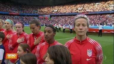Rapinoe x Trump: meia leva EUA à vitória sobre a França e à semifinal da Copa feminina - Rapinoe x Trump: meia leva EUA à vitória sobre a França e à semifinal da Copa feminina