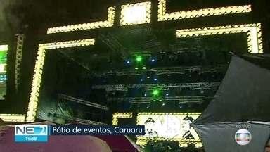 Caruaru celebra São Pedro com shows no pátio de eventos - Dupla Bruno e Marrone está entre as atrações mais esperadas da noite.