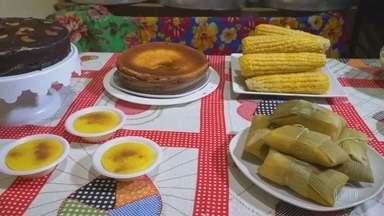Fórmula do Sabor: as delícias das festas juninas - Fantástico mostra os ingredientes e o preparo de alguns dos pratos mais típicos: maçã do amor, pé de moleque, cocada e pamonha.