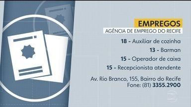 Agência do Trabalho oferece vagas de emprego no Recife - Interessados podem ligar para (81) 3355.2900.