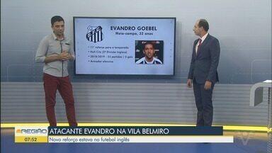 Santos negocia a contratação do meia Evandro, do Hull City - Contrato do atleta com o clube inglês se encerrou neste domingo (30).