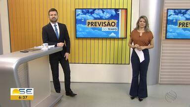 Confira as notícias do tempo em Sergipe - Michele Costa tem mais informações.
