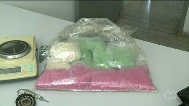 PRF faz, no interior de São Paulo, a maior apreensão de ecstasy do ano - A droga foi encontrada na mochila de uma jovem durante uma revista em um ônibus que saiu de Curitiba com destino a Goiânia