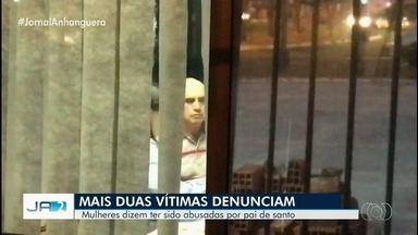 Pai de santo suspeito de abusos sexuais é interrogado pela 2ª vez, em Goiânia - Segundo Polícia Civil, ele reponde perguntas sobre denúncias de 14 mulheres. Advogada dele havia dito que o cliente era 'amante' de algumas dessas mulheres.