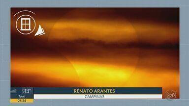 'Na Janela' confira as fotos do eclipse na região - Nathália Assis mostra as imagens que chegaram dos telespectadores do Bom Dia Cidade.