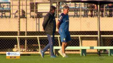 Técnico Renato prepara o Grêmio para próxima partida pela Copa do Brasil - Assista ao vídeo.