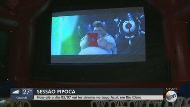 Rio Claro tem cinema gratuito até sexta-feira no Lago Azul - Sessão Pipoca ocorre no Centro de Formação Ambiental com dois horários: 8h e 14h.