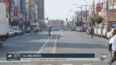 Prefeitura contrata empresa de vigilância em Pouso Alegre por R$ 16 milhões - Prefeitura contrata empresa de vigilância em Pouso Alegre por R$ 16 milhões