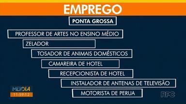 Agência do Trabalhador em Ponta Grossa oferece 70 vagas nesta quarta-feira (3) - O horário de atendimento na Agência é das 8h às 16h sem intervalo para almoço.