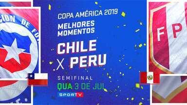 CHI 0 x 3 PER - Semifinal - MM - Copa América