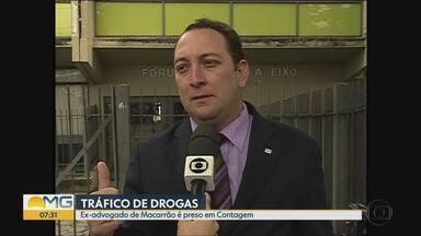 Ex-advogado de Macarrão, condenado no caso Eliza Samudio, é preso por tráfico de drogas - Segundo PM, Waslley César Vasconcelos tinha um mandado de prisão em aberto desde 2014. Ele foi localizado em no bairro São Joaquim, em Contagem.