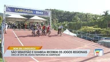 São Sebastião e Ilhabela recebem Jogos Regionais - Cerca de oito mil atletas competem.
