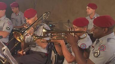 Globo Horizonte mostra o lado artístico dos bombeiros - Conheça a Banda Sinfônica e a Bombeiro Instrumental Orquestra Show.