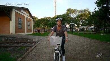 Roberta Campos anda de bike em Artur Nogueira (SP)! - Na cidade, os moradores usam a bicicleta como meio de transporte e a Roberta vai descobrir por que é tão usado!