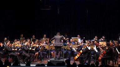 Festival de Inverno de Mogi começou nesta sexta-feira (5) - Abertura contou com apresentação da Orquestra Sinfônica Jovem e participação especial da violinista Betina Stegmann. Programação segue até o fim do mês.