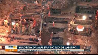 Tragédia na Muzema: preso suspeito de vender apartamentos nos prédios que desabaram - A prisão foi no Rio de Janeiro.