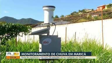Rede de monitoramento de chuva com 28 estações será instalada em Maricá - Assista a seguir.