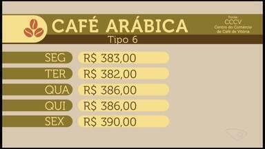 Veja a cotação do café no Espírito Santo - Veja como se comportou o mercado do café durante a semana.