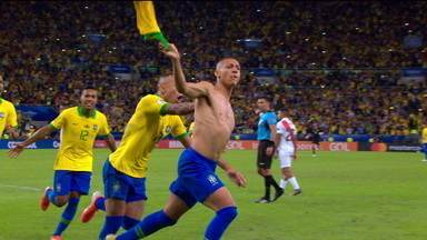 Os gols de Brasil 3 x 1 Peru pela final da Copa América 2019 - Os gols de Brasil 3 x 1 Peru pela final da Copa América 2019