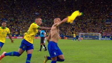 Melhores momentos: Brasil 3 x 1 Peru pela final da Copa América 2019 - Melhores momentos: Brasil 3 x 1 Peru pela final da Copa América 2019