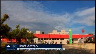 Cinco empresas comparecem à licitação para assumir administração da UPA em Divinópolis - Certame presencial foi realizado nesta segunda-feira (8) para entrega dos documentos solicitados pera Prefeitura.