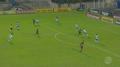 São Bento empata no recomeço da série B do brasileiro conta o Elo Sport - Após a parada para a Copa América, o azulão abriu a 9ª rodada jogando em Sorocaba (SP).