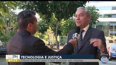 Justiça do Piauí autoriza envio de intimação via Whatsapp para agilizar processos - Justiça do Piauí autoriza envio de intimação via Whatsapp para agilizar processos