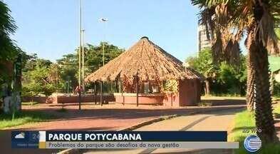 Problemas no Parque Nova Potycabana são desafios para nova gestão - Problemas no Parque Nova Potycabana são desafios para nova gestão